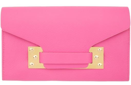 pink sophie hulme purse